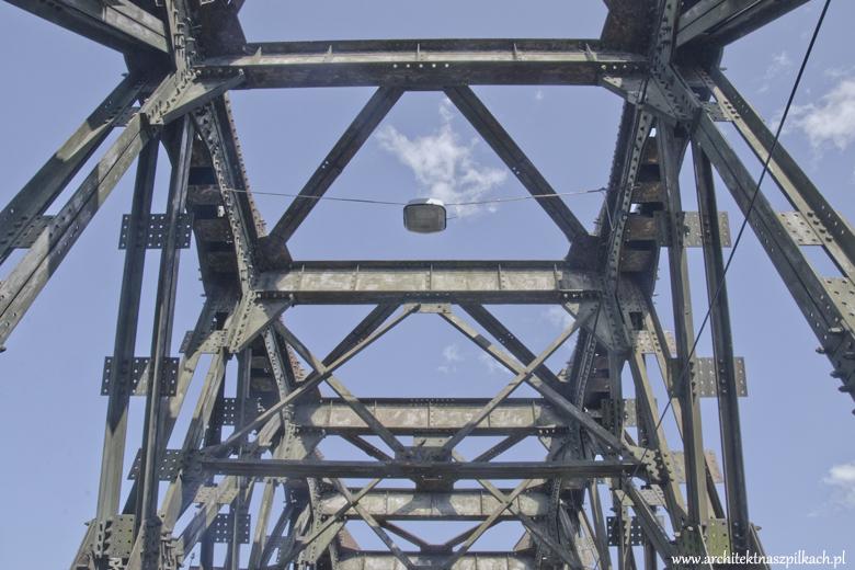 Most kolejowy w Tczewie.