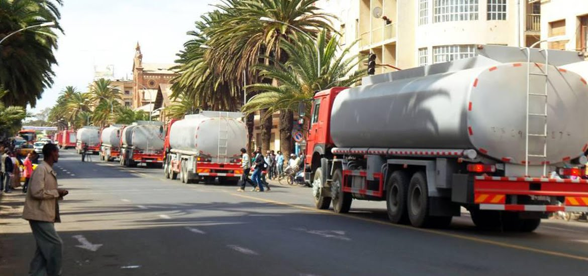 <Traffic from Eritrea Causing Fuel Shortages in Tigray