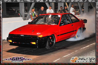 Toyota Corolla AE86 Japanese Drag Car Fastest