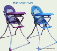 Pliko HC10 Baby High Chair