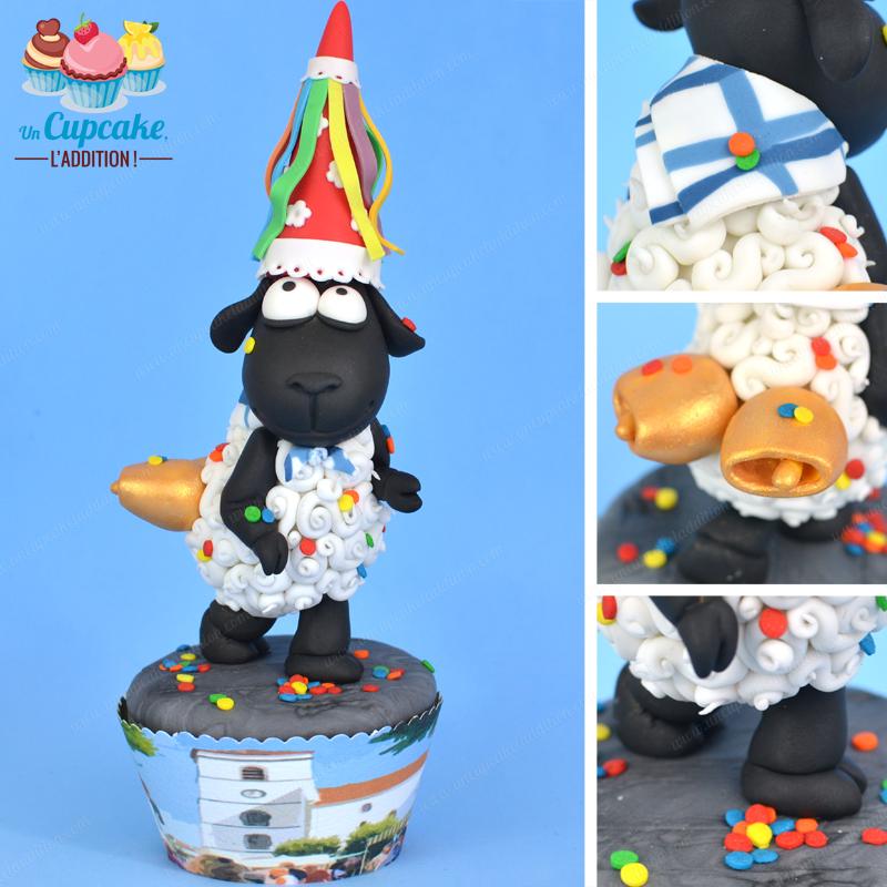 Cupcakes Hendayeses: el Cordero Antxon y la Fiesta Vasca