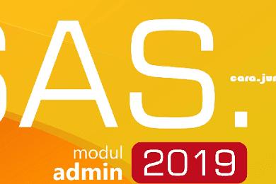 Download Update Aplikasi SAS 2019 Terbaru 19.0.7, Cara Install, Buku Pintar