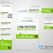 PSD Banners | Download High Resolution PSD Banners: Clean Web Banner Pack