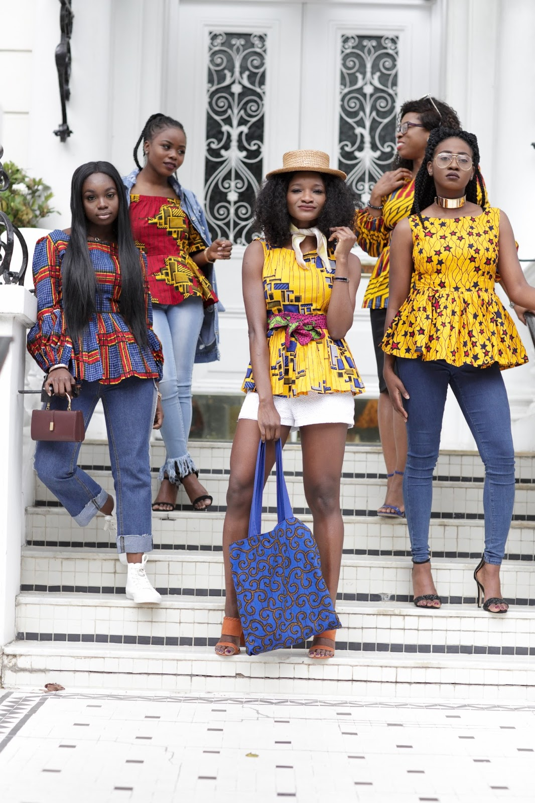 cbe4164c50a3df ... collab and include their styling creativity into how they would rock an Ankara  peplum top and didn t they just slay the hell outta the outfit  ) love ...