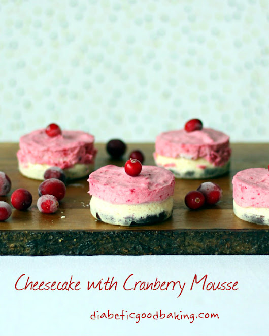 Cranberry Cheesecake