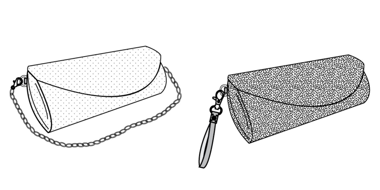 Toriska Bags & Crafts: Announcing...the Barrelette Clutch!