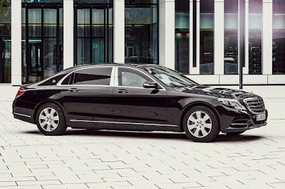 Mercedes-Maybach S 600 Guard (2016) Front Side