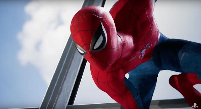 Trailer de Spider-Man para PlayStation 4 en la Comic Con