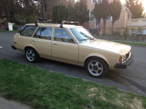 daily turismo beigefish 1980 toyota corolla te72 wagon. Black Bedroom Furniture Sets. Home Design Ideas