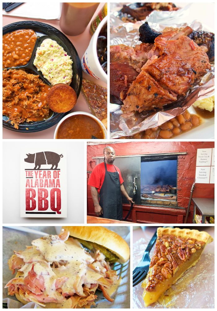 Alabama BBQ {Roadtrip} - 4 of Alabama's best BBQ joints - Byron's Smokehouse, Archibald's BBQ, Melvin's Place of Barbecue and Saw's BBQ - 4 hidden gems that you must visit on your next trip to Alabama. Make sure to wear your stretchy pants - you're gonna need them!
