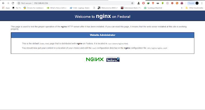 Cara Install dan Konfigurasi Webserver Nginx di server Centos 7 GNU/Linux