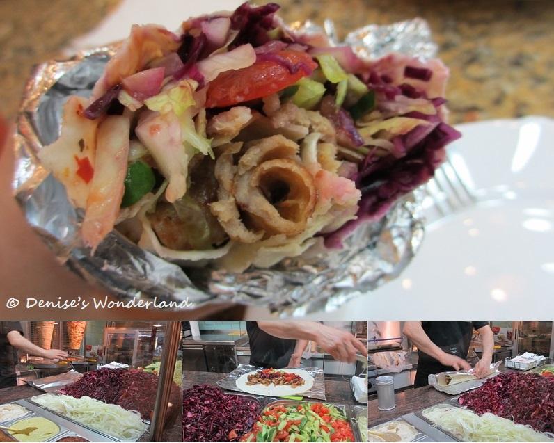 Middle Estern kebab