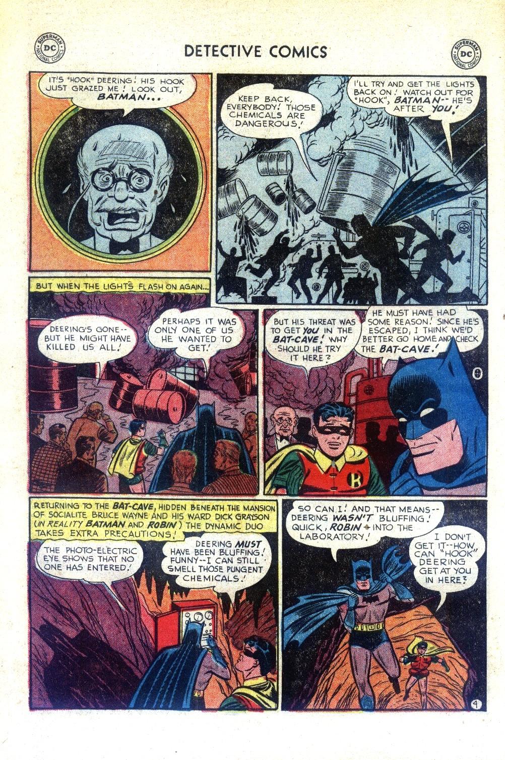 Read online Detective Comics (1937) comic -  Issue #188 - 6