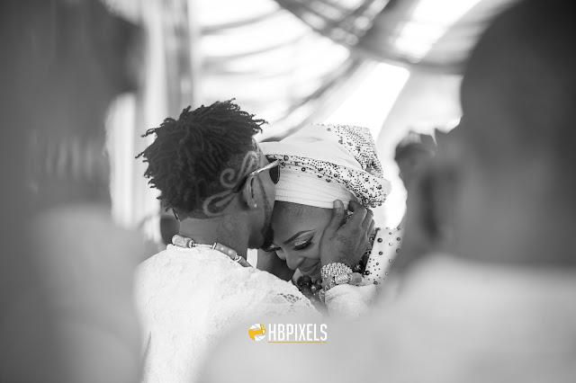 The Kiss! More stunning photos from Oritsefemi and Nabila Fash