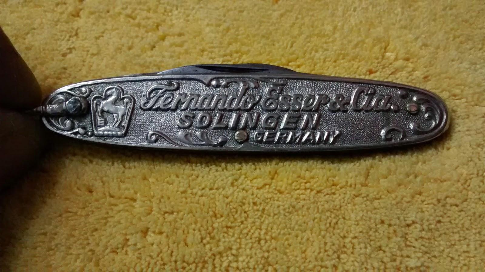 Hobi Mnoima Pocket Knife