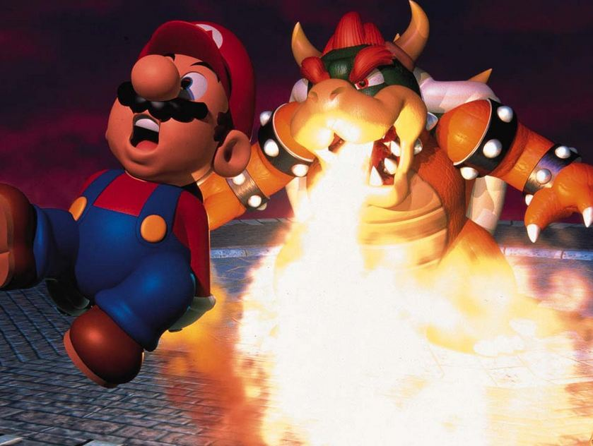 The 10 Greatest Fire/Lava Levels In Video Game History ... |Fire Bowser