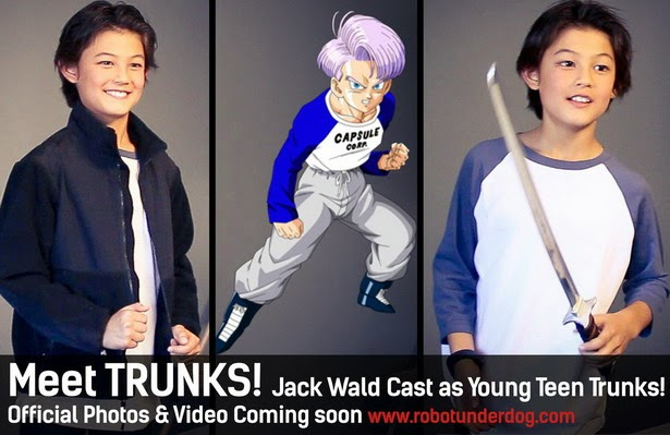"Trunks en ""Light of Hope"" la web-serie"