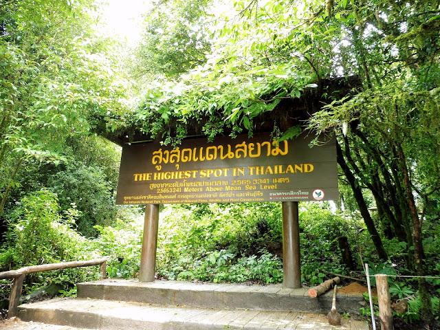 montaña mas alta tailandia