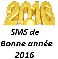les SMS de Bonne année 2016
