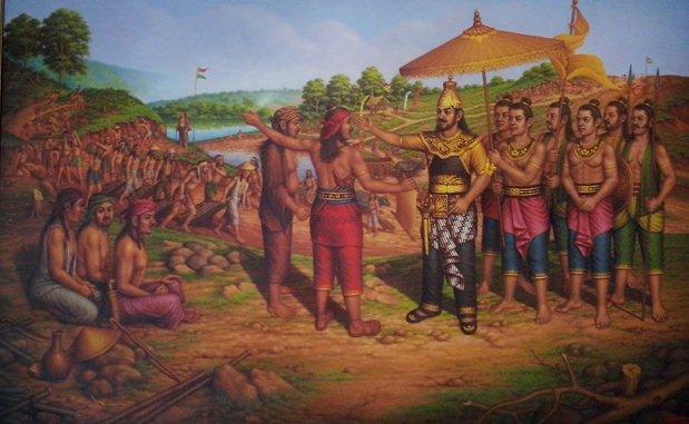 Peta Sejarah Kerajaan Sunda Pajajaran