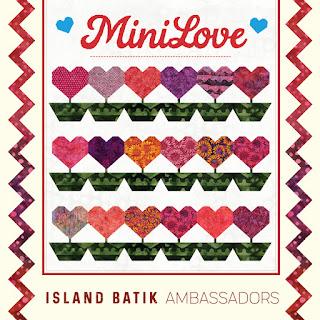 #islandbatikambassador #minilovewithislandbatik #islandbatik #iheartislandbatik #miniquilt