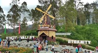 Taman Edelweis Besakih Karangasem