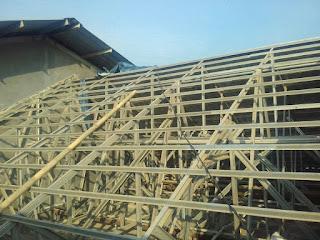 Renovasi Gedung Kelurahan di Bekasi
