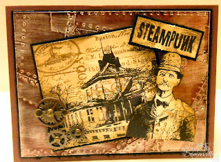 Artistic Outpost Steampunk, Secretary Pool