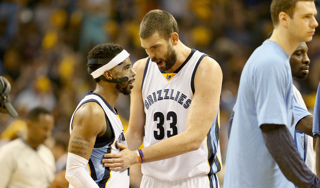 5906c40d1567 The grinding Grizzlies earned their reputation in large part due to the  presence of their tandem of bigs. Zach Randolph and Marc Gasol serve as the  ...