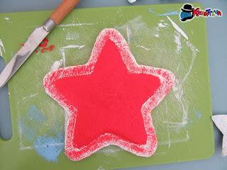 stella in carta e alluminio fai da te