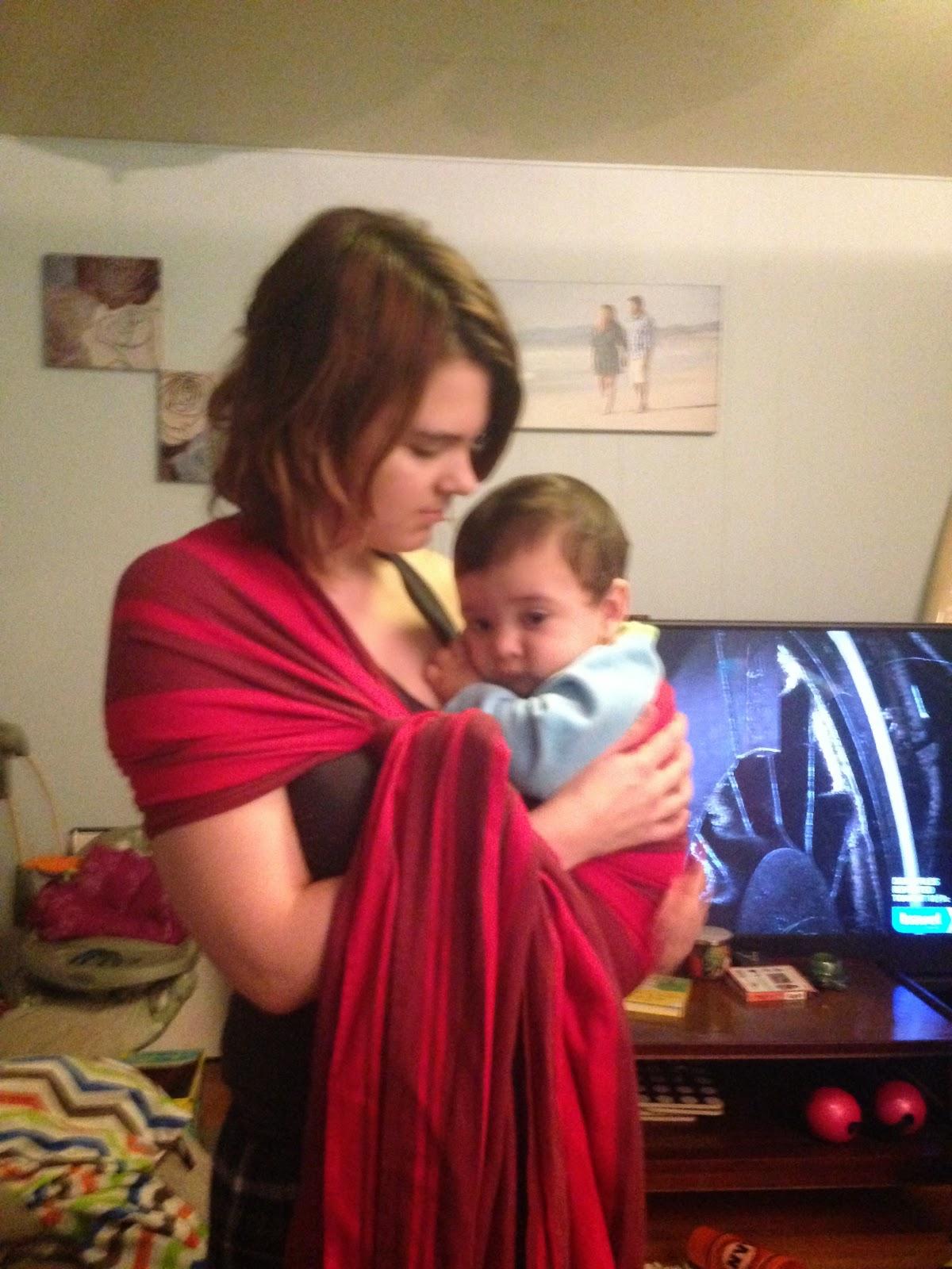 Vegan Babymama Our Babywearing Journey So Far