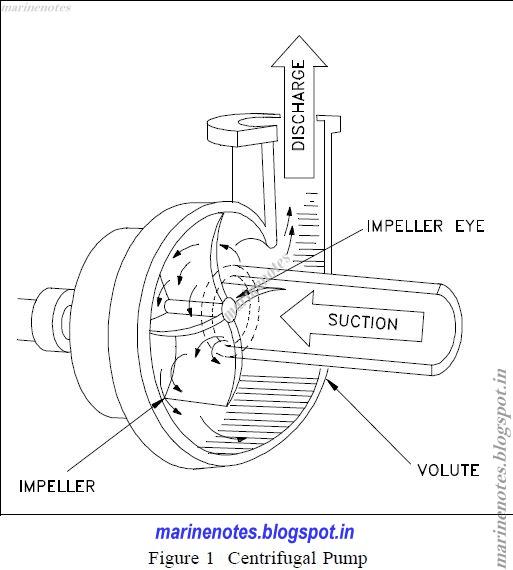 Basics Of Centrifugal Pumps Marine Notes