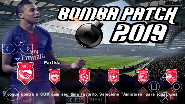 NOVO!! BOMBA PATCH 2019 PPSSPP BRASILEIRÃO e EUROPEU ATUALIZADO