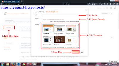 Tutorial Buat Blogger