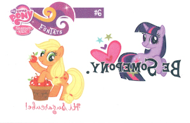 MLP Tattoo Card 6 Series 2 Trading Card
