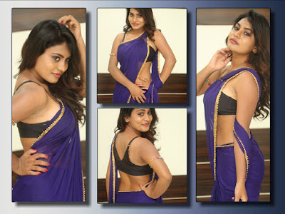 Priyanka-Augustin-hot-saree-pics