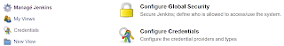 Manage Jenkins - Configure global security - Azure AD