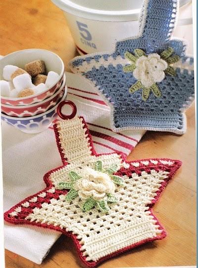 Patron Crochet Cesta Agarrador