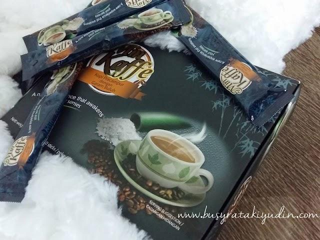 Min Kaffe - Kopi Bercampur dengan Garam Buluh bantu menambah tenaga setiap hari