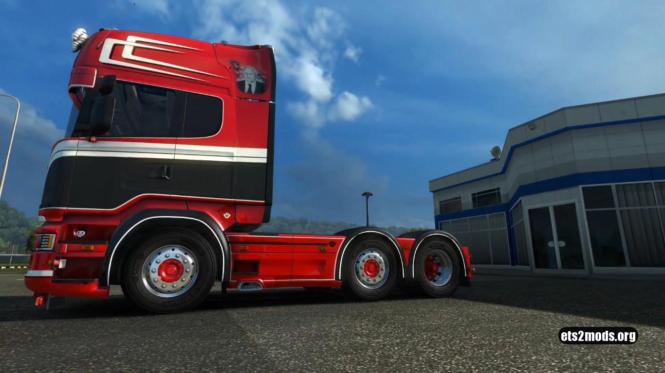 Truck – Scania R520 Adwin Stam [1.27]