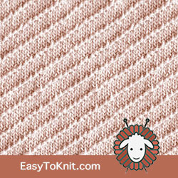 Knit Purl 63: Right Diagonal