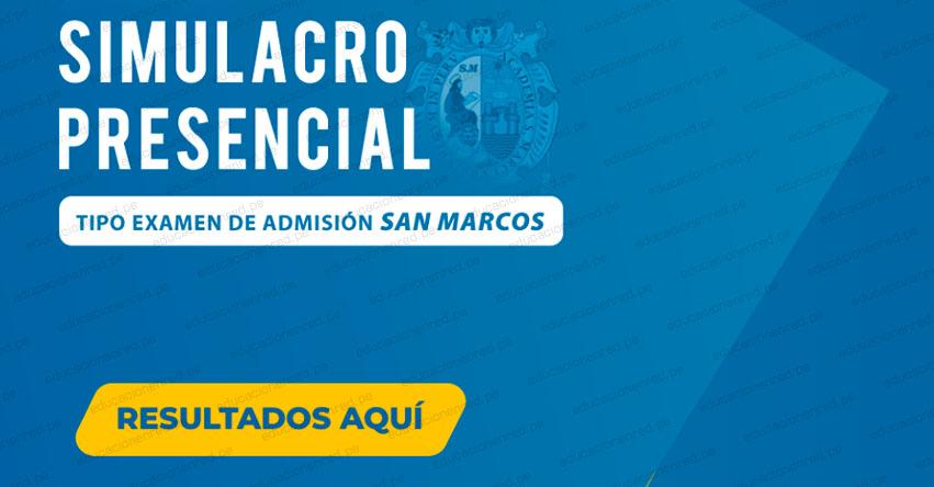 Solucionario Simulacro Academia ADUNI 2019 (Resultados Domingo 8 Septiembre) Tipo Examen Admisión San Marcos - www.aduni.edu.pe