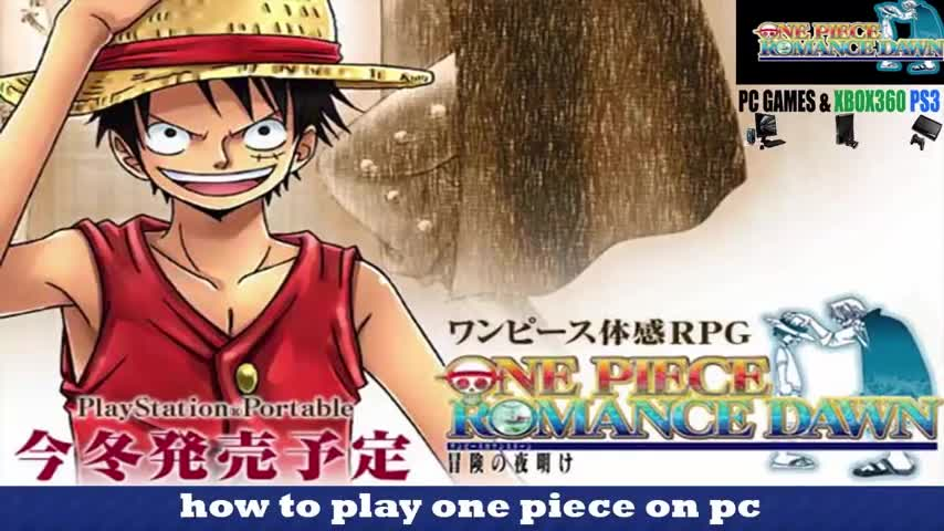 one piece pc game free download english