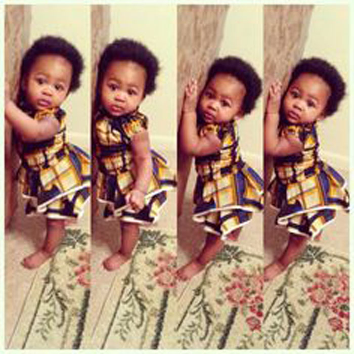 cute ankara styles for babies & toddlers (25)