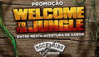 Promoção Rock&Ribs Welcome to the Jungle promorockeribs.com.br