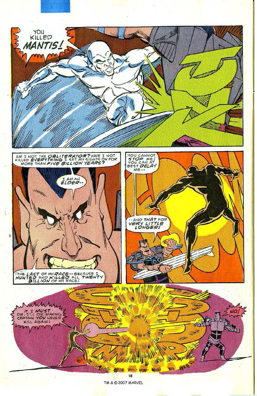 Read online Silver Surfer (1987) comic -  Issue #5 - 26