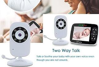 Laputa Baby Monitor - 2Way Audio Video Camera with Motion Sensor and Night Vision