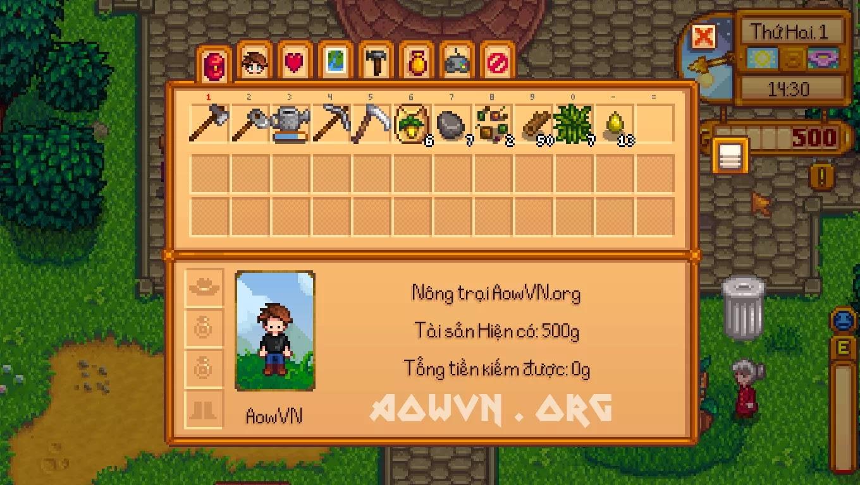 Stardew%2BValley AowVN.org min%2B%25284%2529 - [ HOT ] Stardew Valley Việt Hóa Full | PC - Game Nông Trại Offline tuyệt hay