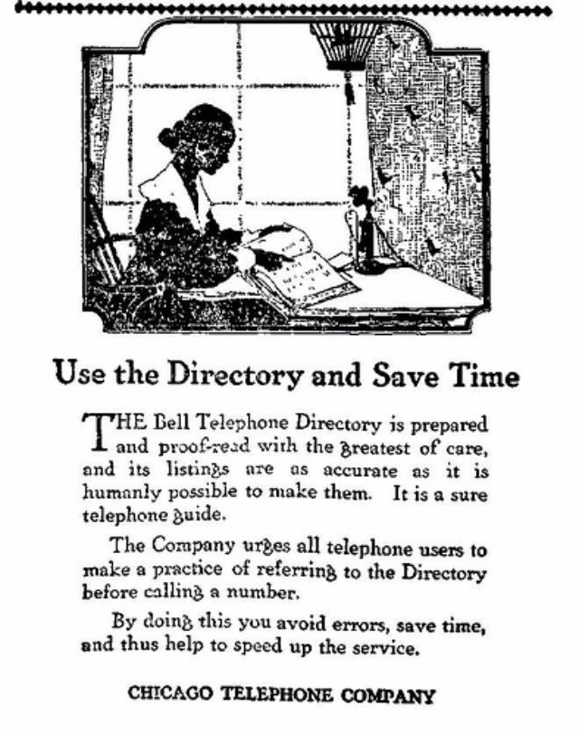 Instructions on How to Use a Telephone from 1917 ~ vintage