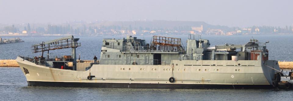 розвідувальний корабель (шифр Лагуна)